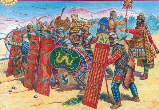 Persian infantry immortals V-IV B.C.""
