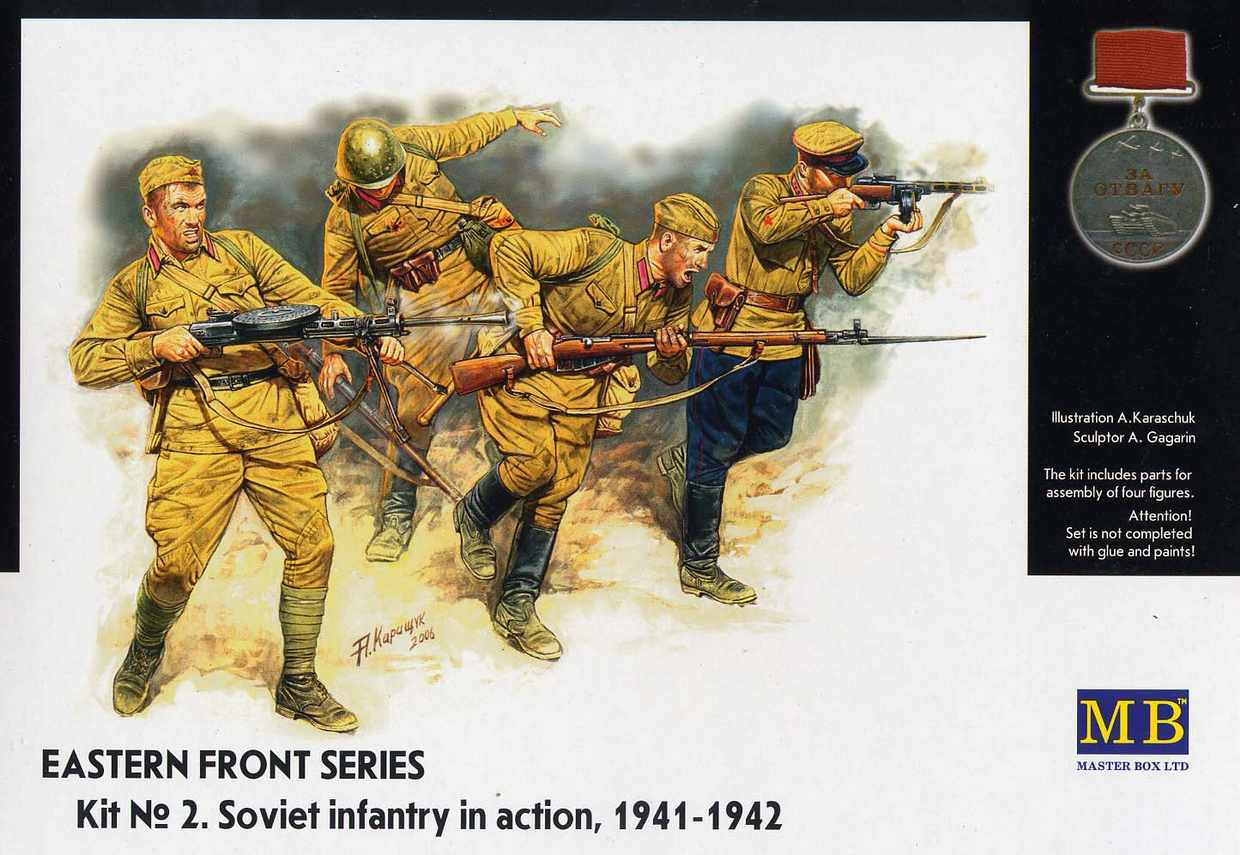 SOVIET INFANTRY IN ACTION 1941-1942