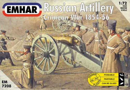 Russian Artillery Crimean War