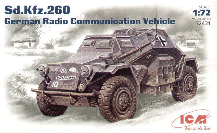 Sd.Kfz.260 WWII German radio communication vehicle