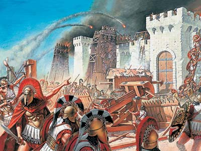 Siege of Ancient Fortress