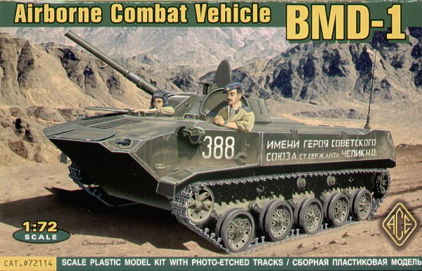 BMD-1 Airborne Fighting Vehicle (PE Tracks)
