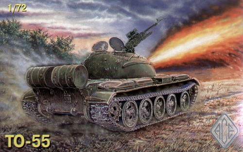 TO-55 Flamethrower tank