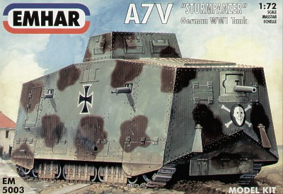 A7V German WWI Tank