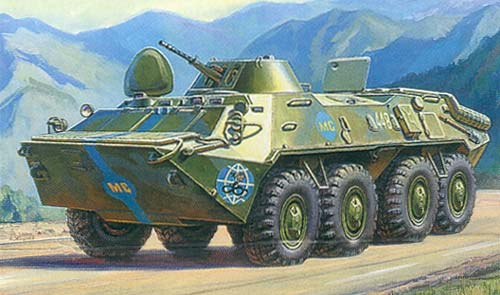 BTR-70 Russian personnel carrier