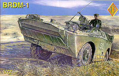 BRDM-1 Scout vehicle (rubber tyres)