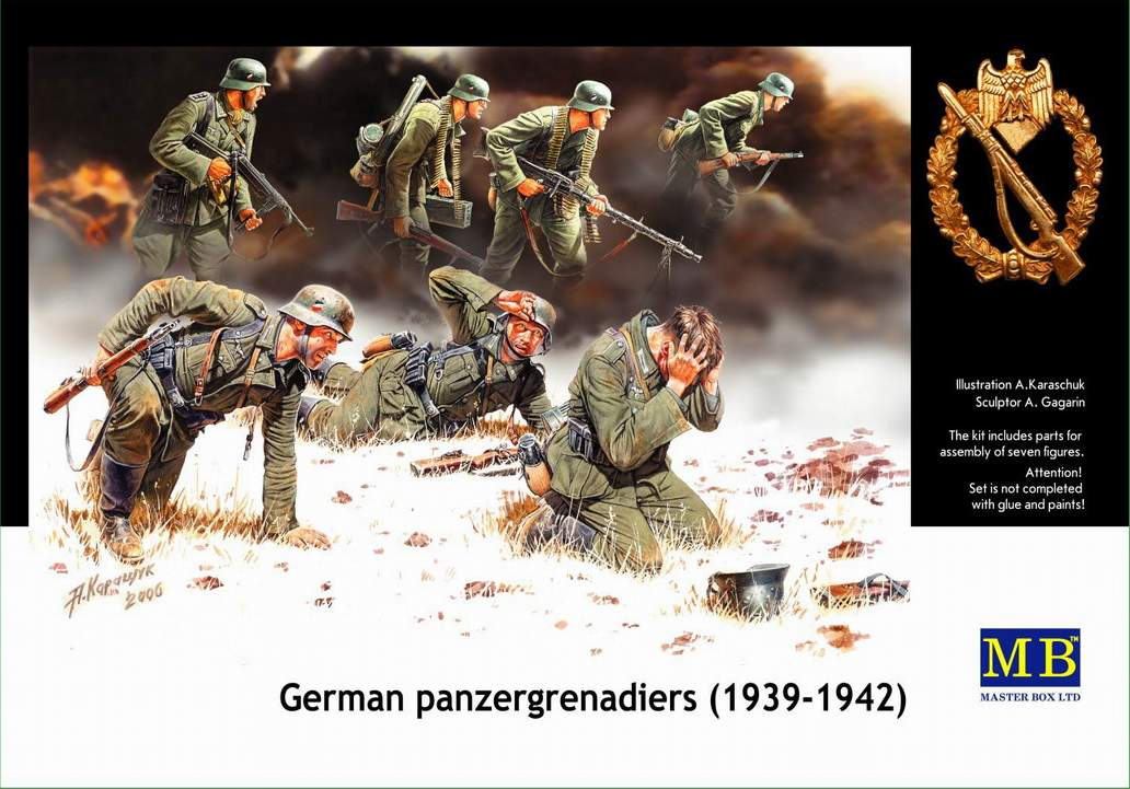GERMAN PANZER GRENADIERS (1939-1942)