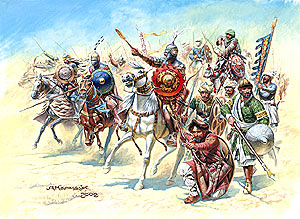 Moors/Saracens of the 11th Century