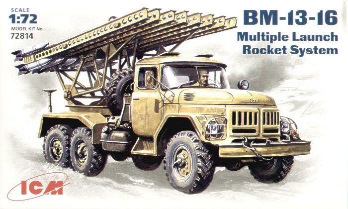 Zil-131 BM-13-16 Soviet Army rocket volley system