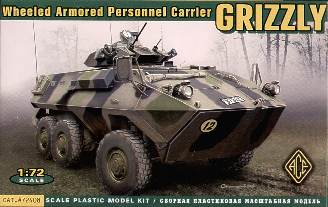 Grizzly 6x6 Personnel Carrier (rubber tyres)