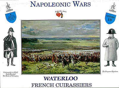 WATERLOO FRENCH CURASSIERS