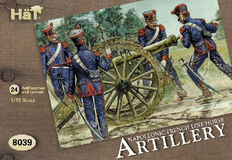 Napoleonic French Line Horse Artillery