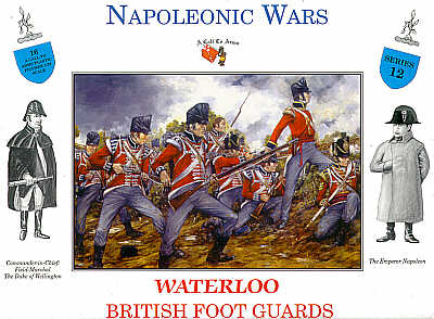 WATERLOO BRITISH FOOT GUARDS
