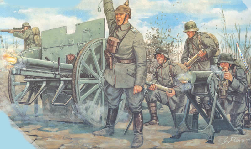 German WW1 Artillery