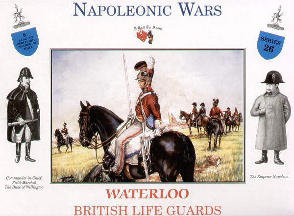WATERLOO BRITISH LIFE GUARDS