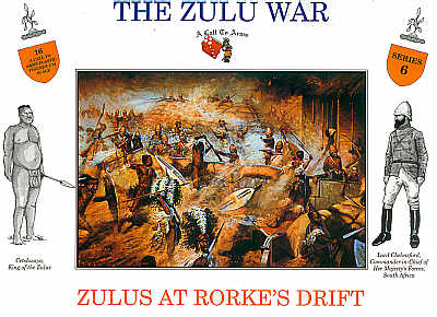 ZULUS AT RORKES DRIFT