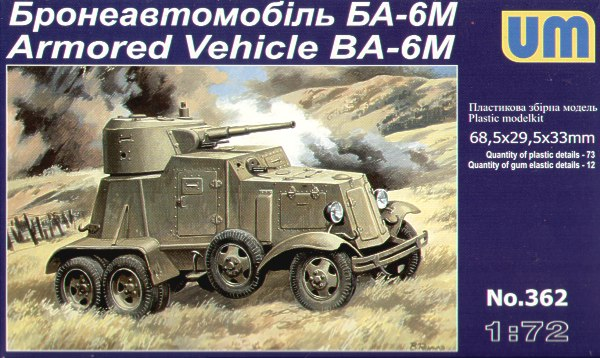 Armored Vehicle BA–6M