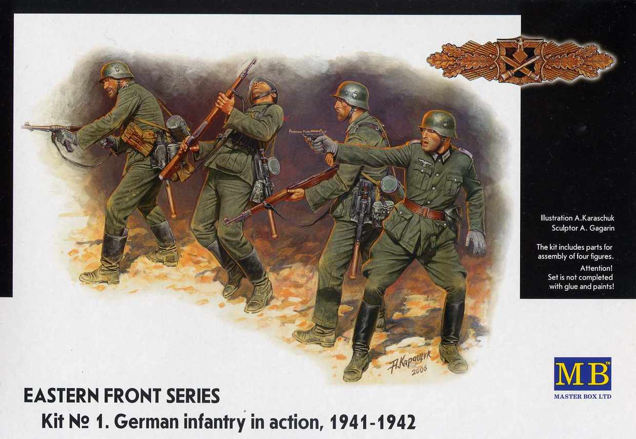 GERMAN INFANTRY IN ACTION 1941-1942