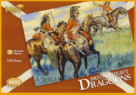 Napoleonic British Dragoons