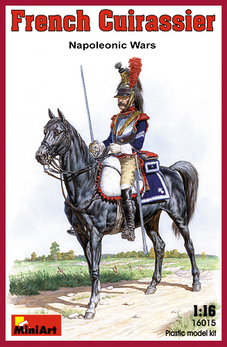 FRENCH CUIRASSIER    NAPOLEONIC WARS.