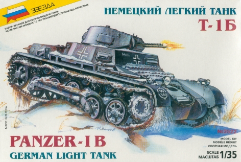 Panzer 1B German Light Tank
