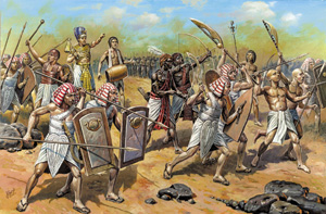Ancient Egyptian Infantry