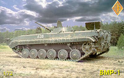 BMP-1 (Soviet IFV w/etched parts)