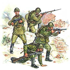 Red Army infantry (part 2)