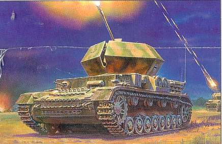 "WWII German TANK ARMOR PANZER T-IV ""OSTWIND"" 3571"