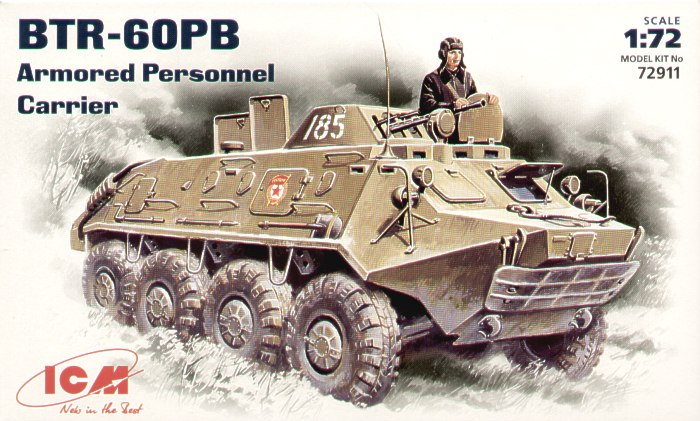 BTR-60PB Soviet infantry vehicle