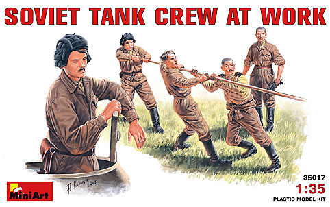 SOV TANK CREW AT WORK