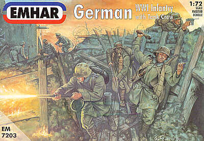 German WW1 Infantry & Gun Crew