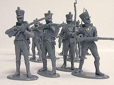 WATERLOO FRENCH LINE INFANTRY