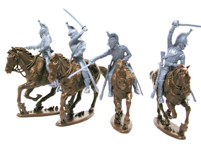 WATERLLO FRENCH DRAGOONS